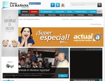 diariolamanana.com.ar screenshot