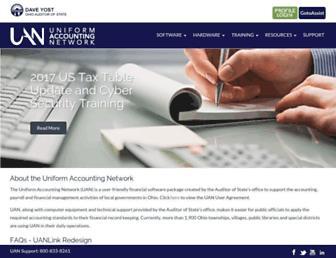 uanlink.ohioauditor.gov screenshot