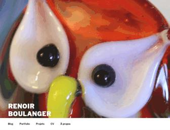 renoirboulanger.com screenshot