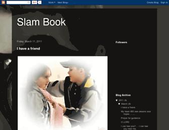 slambookquotes.blogspot.com screenshot