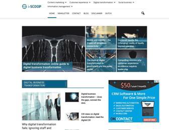 i-scoop.eu screenshot