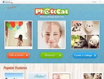 web.photocat.com screenshot
