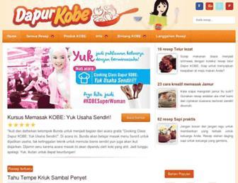 dapurkobe.co.id screenshot