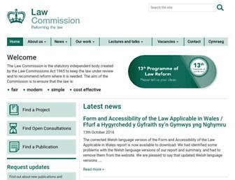 lawcom.gov.uk screenshot