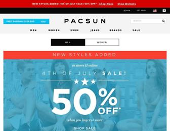 Thumbshot of Pacsun.com