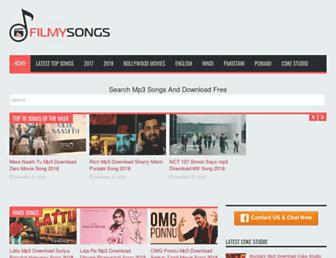 filmysongs.co screenshot