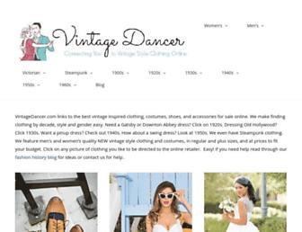 Thumbshot of Vintagedancer.com