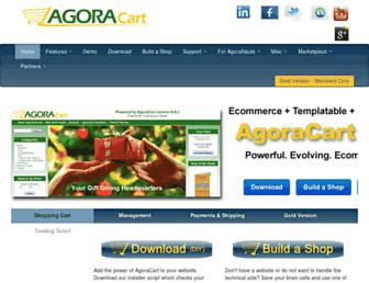 agoracart.com screenshot