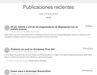 sinplanes.com screenshot