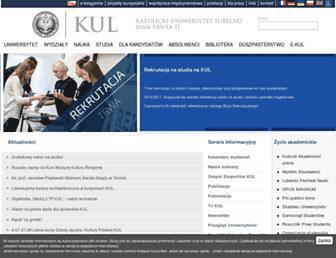 Thumbshot of Kul.lublin.pl