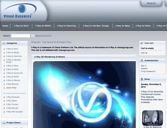 vray.com screenshot