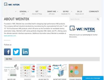 weintek.com screenshot