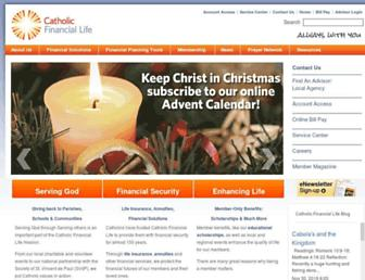 catholicfinanciallife.org screenshot
