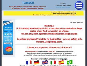 tuneecu.com screenshot