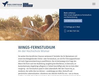 wings.hs-wismar.de screenshot