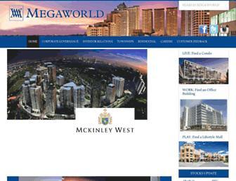 megaworldcorp.com screenshot