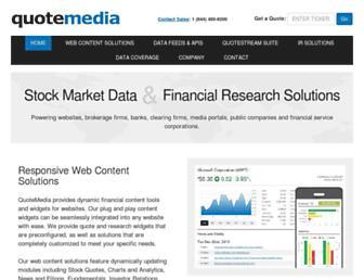 Thumbshot of Quotemedia.com
