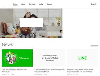Thumbshot of Linecorp.com