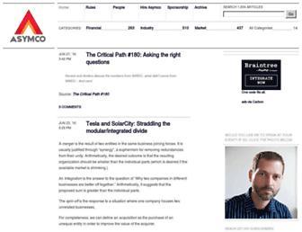 asymco.com screenshot