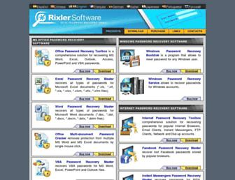 rixler.com screenshot