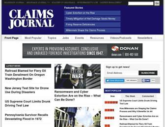 claimsjournal.com screenshot