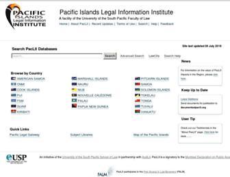 paclii.org screenshot