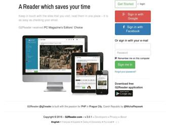 Thumbshot of G2reader.com