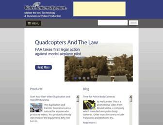 videouniversity.com screenshot