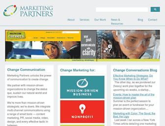 marketing-partners.com screenshot