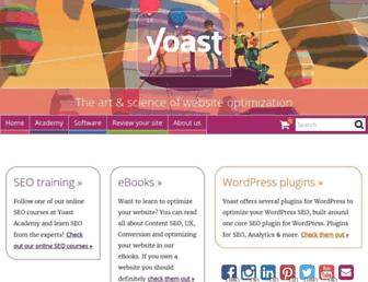 Thumbshot of Yoast.com
