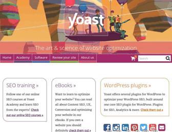 yoast.com screenshot