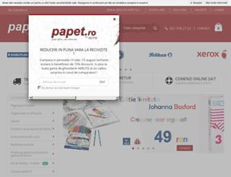 papet.ro screenshot