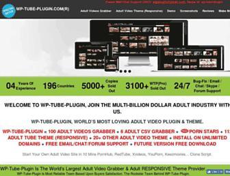 Thumbshot of Wp-tube-plugin.com