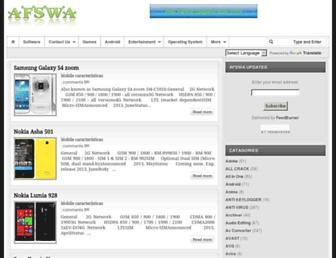 afswa.blogspot.com screenshot
