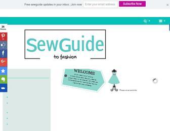 sewguide.com screenshot