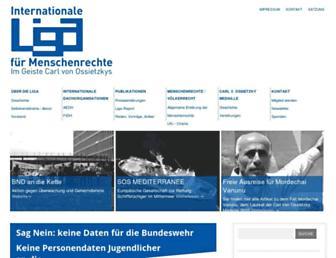Main page screenshot of ilmr.de
