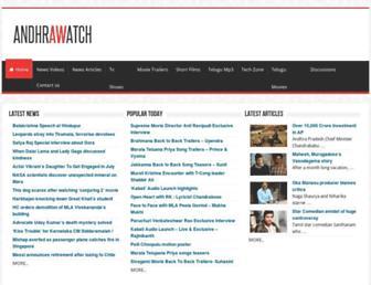 Thumbshot of Andhrawatch.com