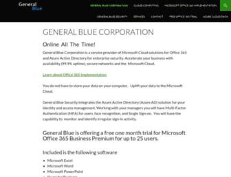 generalblue.com screenshot