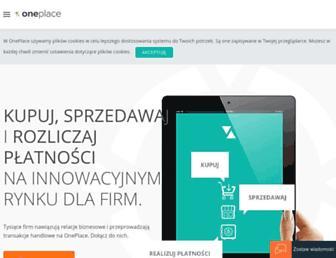 oneplace.marketplanet.pl screenshot