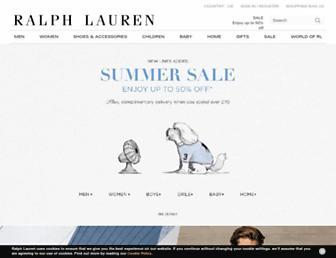 Thumbshot of Ralphlauren.co.uk