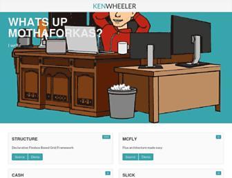 kenwheeler.github.io screenshot