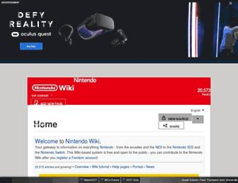 nintendo.fandom.com screenshot