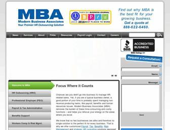 mbahro.com screenshot