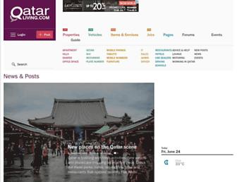 Thumbshot of Qatarliving.com