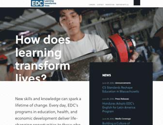 Thumbshot of Edc.org