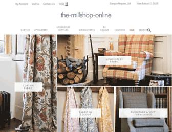 the-millshop-online.co.uk screenshot