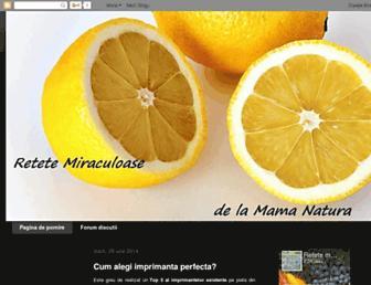 retete-miraculoase.blogspot.com screenshot