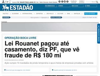 Thumbshot of Estadao.com.br