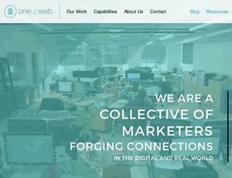 oneupweb.com screenshot