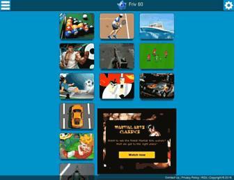 friv60.com screenshot